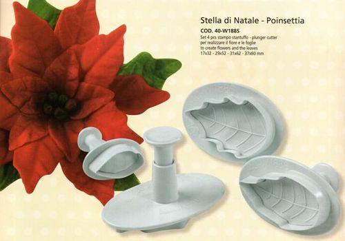 Stampo Stella Di Natale.Stampi Espulsione Pz 4 Stella Di Natale Roma Cash